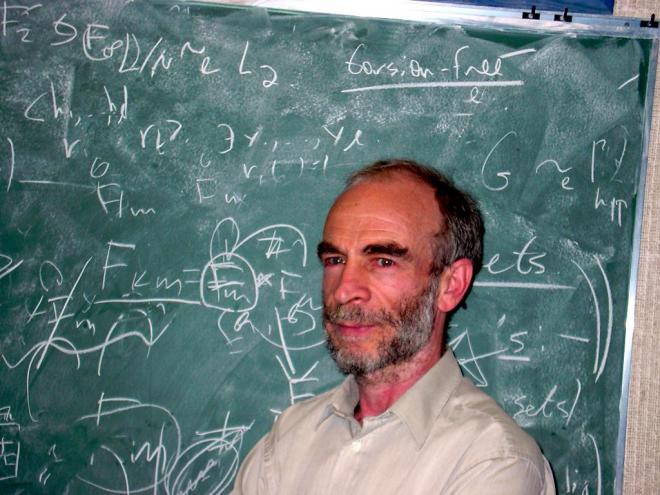 ২০০৯ সালে অ্যাবেল পুরষ্কার বিজয়ী রাশিয়ান গণিতবিদ মিখাইল গ্রমভ