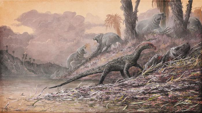 ডাইনোসরদের পূর্বপুরুষ অর্ধেক ডাইনোসরের ফসিল আবিস্কার